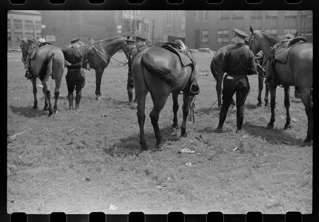 Untitled photo, possibly related to: Policemen, Chicago, Illinois