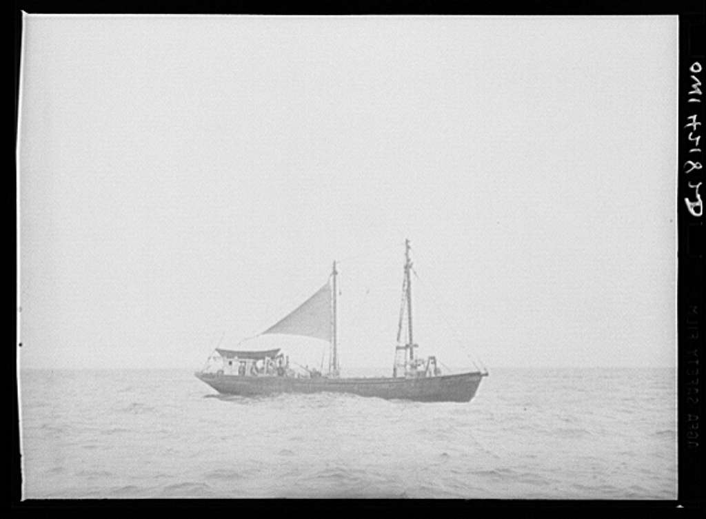 A dragger fishing out from Gloucester, Massachusetts