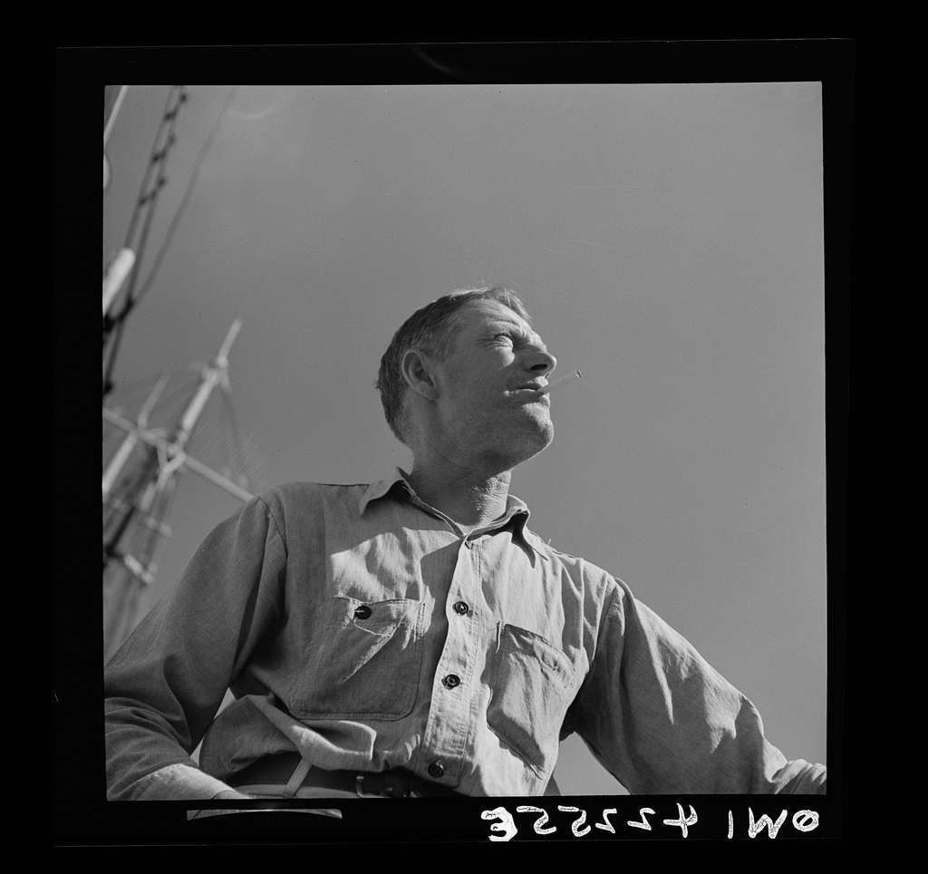 Gloucester, Massachusetts. A fisherman, possible a captain