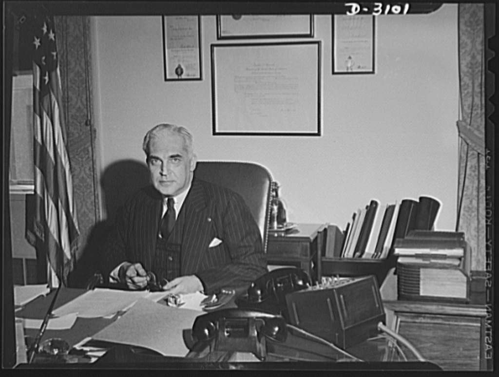 Paul V. McNutt, issuing his statement at April 20, 1942 press conference, upon his appointment as chairman of the War Manpower Commission