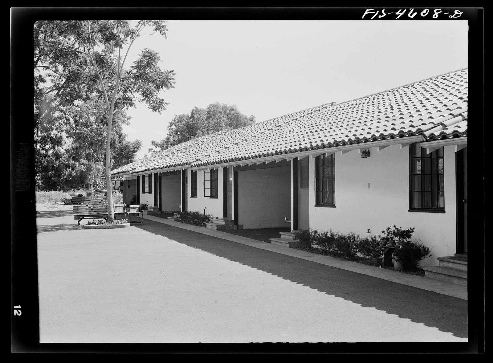 Tourist court. Santa Clara, California