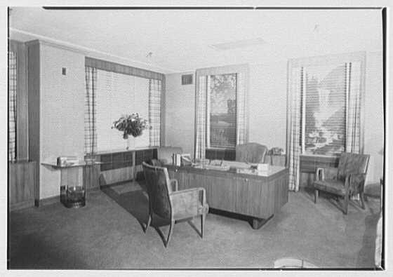 J. Wasserman Co., 225 W. 35th St., New York City. Office, to desk