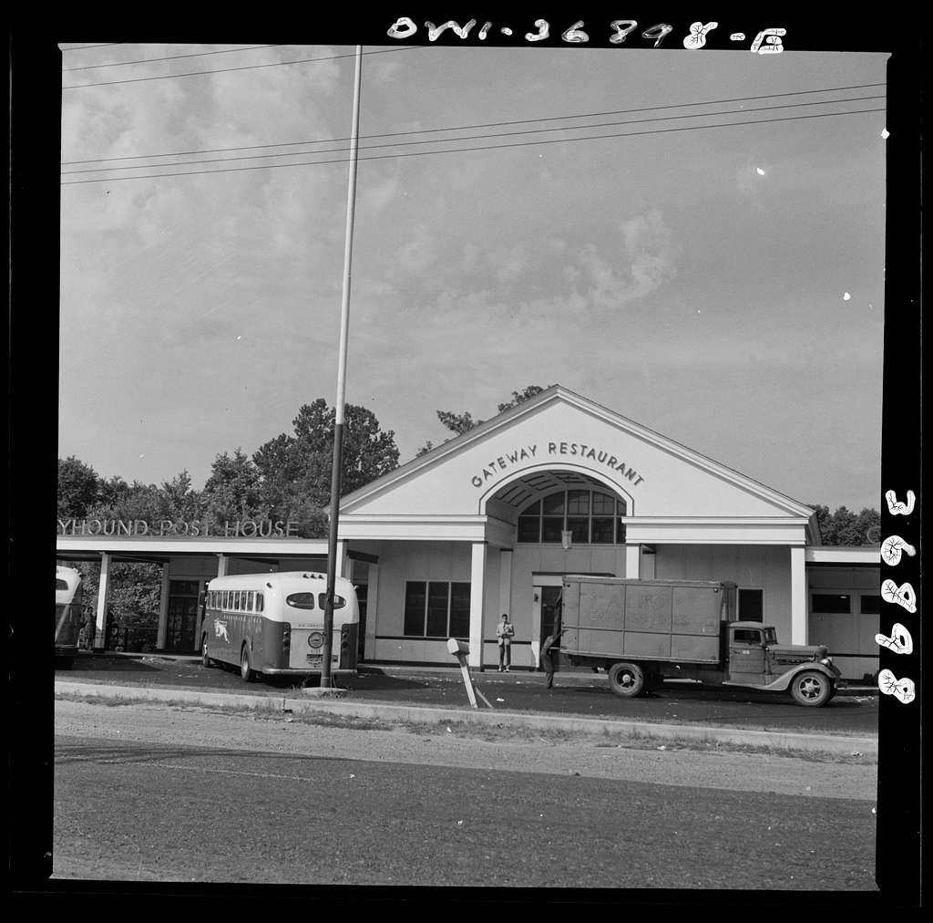 New Bedford, Pennsylvania. The Greyhound post house
