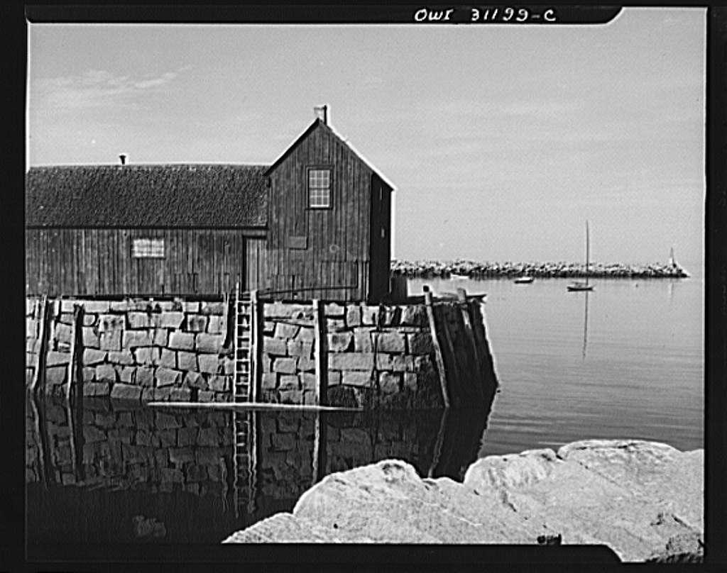 Rockport, Massachusetts. Old net house