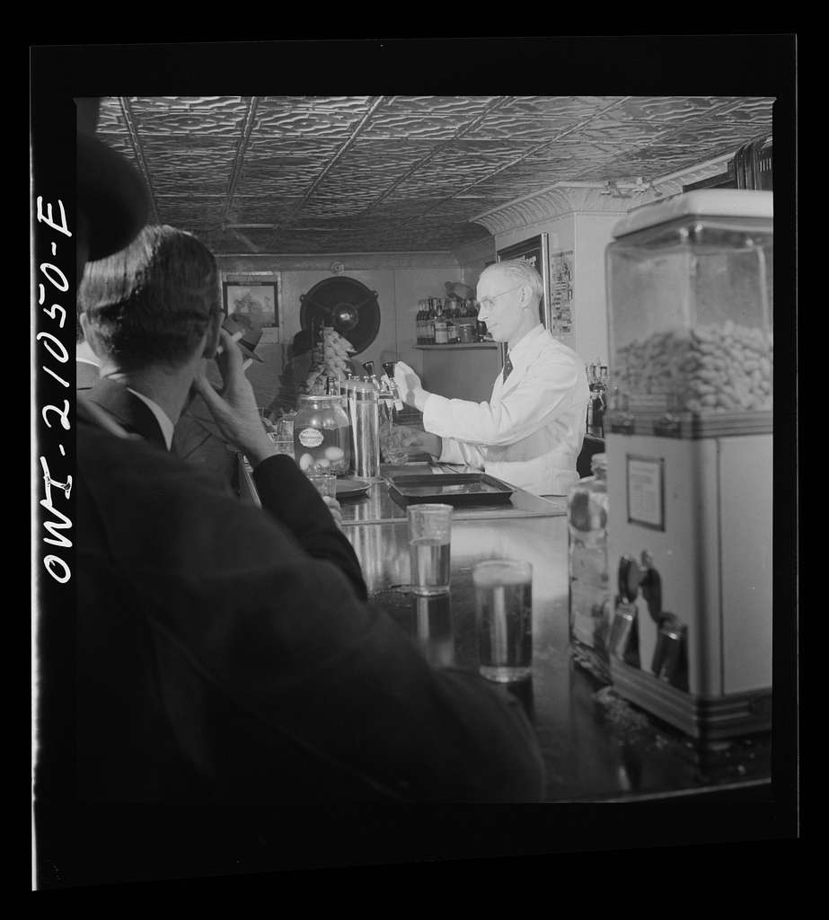 Washington, D.C. Bob, the bartender at the Sea Grill