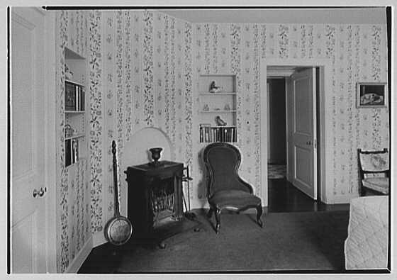"Chauncey D. Stillman, ""Wethersfield"", residence in Amenia, New York. Guest room"