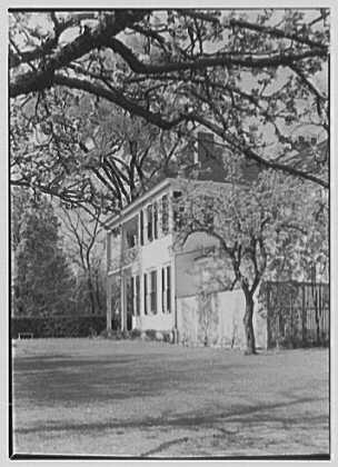 Dr. Charles H. Kimberly, residence in Stockbridge, Massachusetts. East facade II