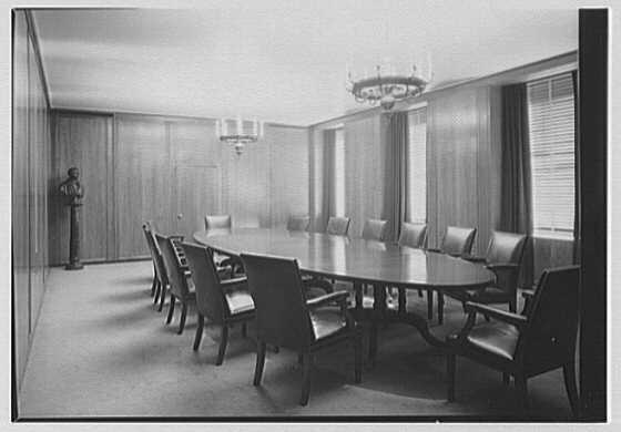 U.S. Rubber Co., 1230 6th Ave., New York City. Boardroom II