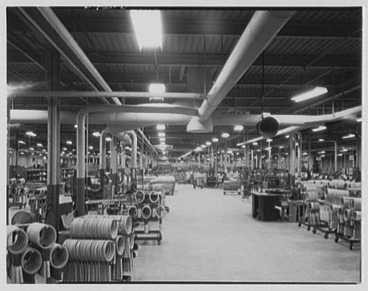 A.G. Spaulding & Son, Inc., Springfield, Massachusetts. General view of plant