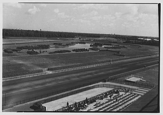 Belmont Racetrack, Queens, Long Island, New York. View IX