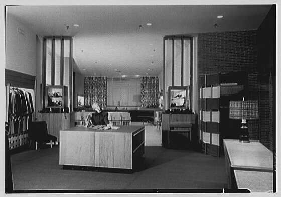 Franklin Simon Co., business on Connecticut Ave., Washington, D.C. View to shoe department from sportswear