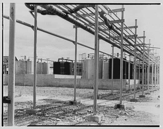 Irvington Varnish and Insulator Co., Newark, New Jersey. View to tanks no. 2