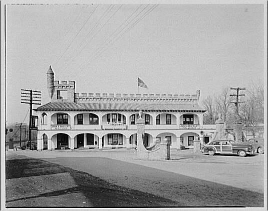 Building Commission. Castle House in Forest Glen, Maryland V