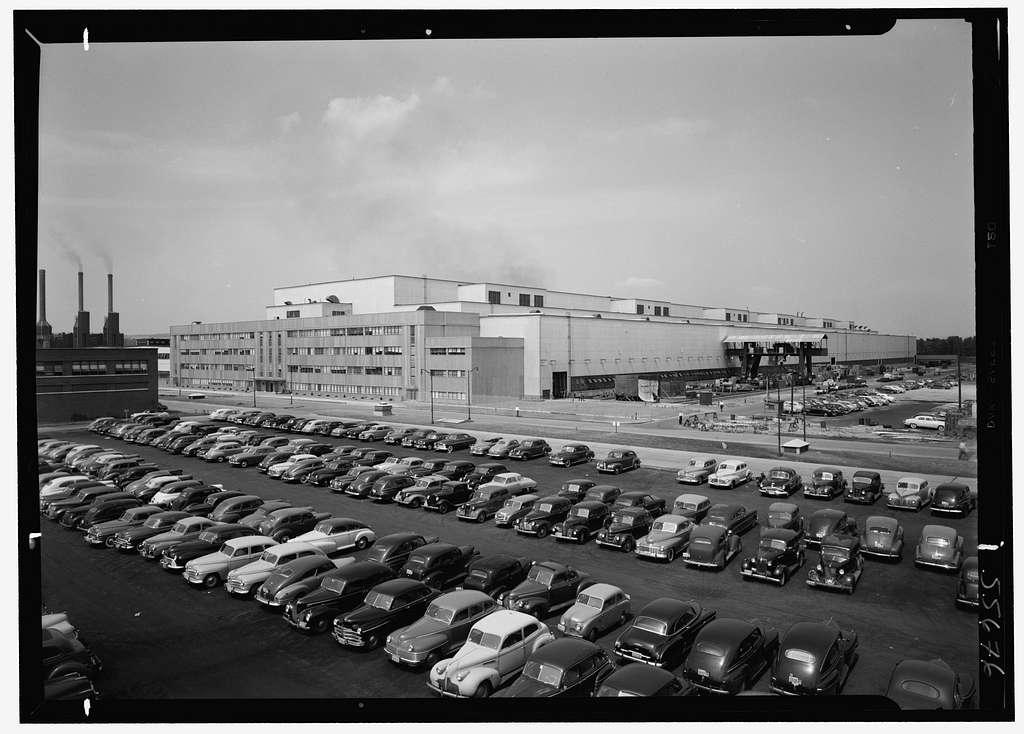 General Electric turbine plant, Schenectady, New York. Tower shot I