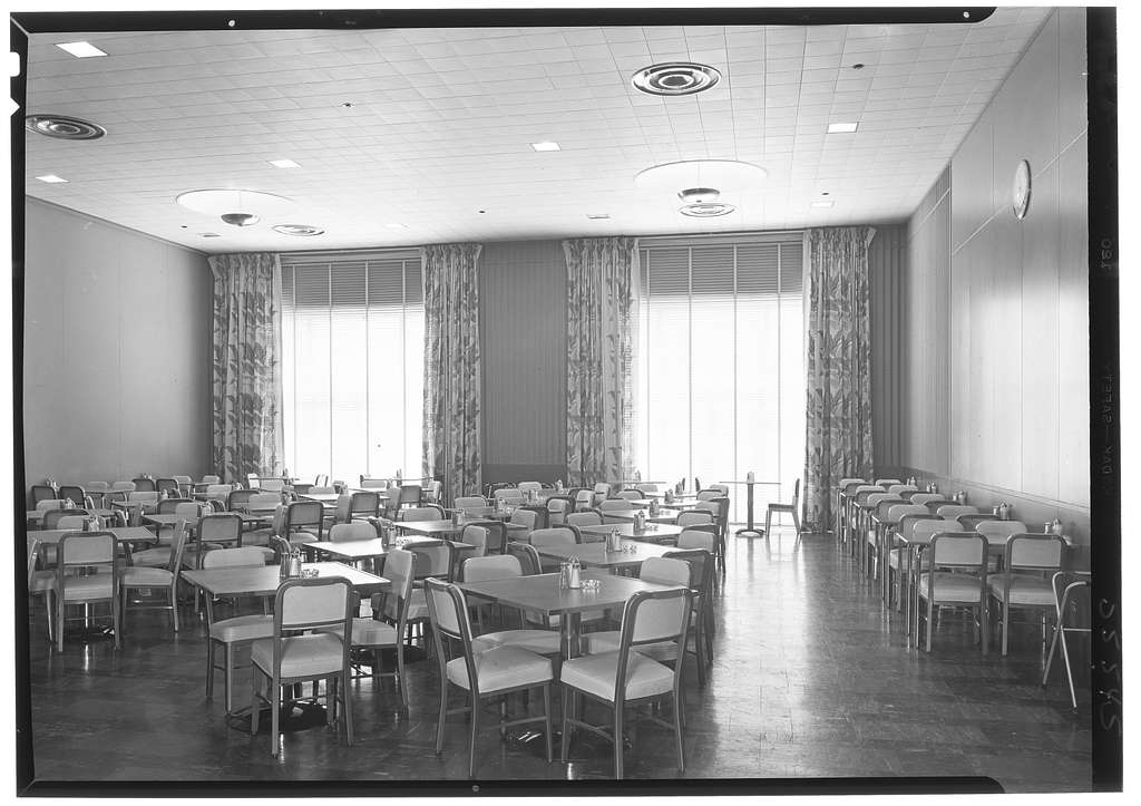 Johns-Manville Research Laboratory, Finderne, New Jersey. Cafeteria I