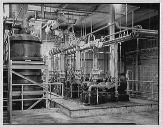 Dominion Alkali & Chemical Co., Ltd., Beaunhois i.e. Beauharnois, Canada. Close-up
