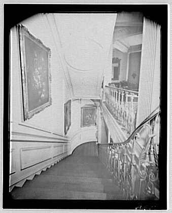 Louis Brugiere, residence. Interior X