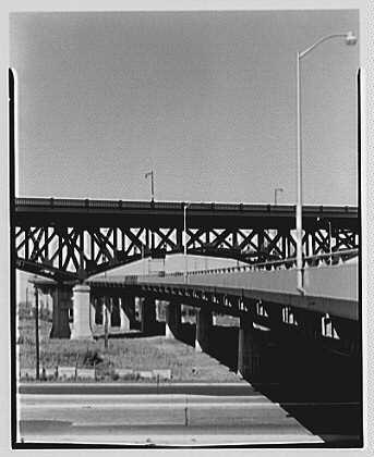 New Jersey Turnpike. Chaplain Washington Bridge