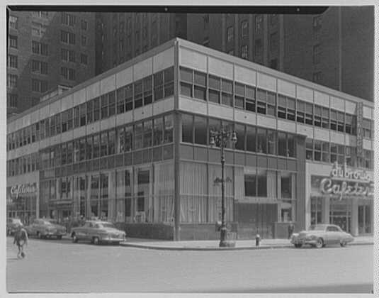 Trade Bank and Trust Co., 7th Ave. and 38th St., New York City. Exterior