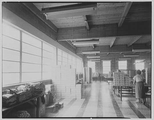 Argo Knitting Mills, Schuylkill Haven, Pennsylvania. Interior IV