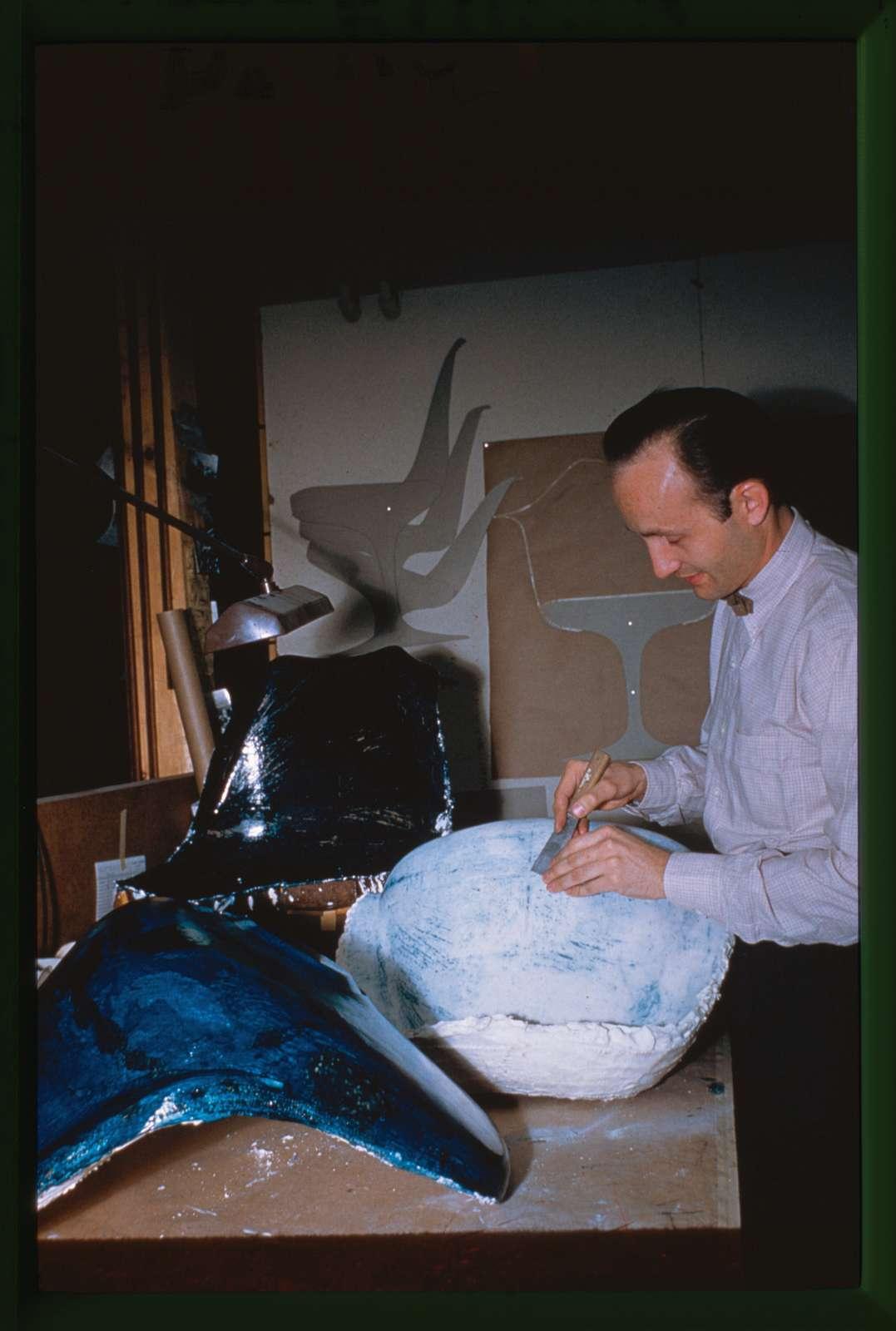 Saarinen office staff: Don Pettit, Bloomfield Hills, Michigan