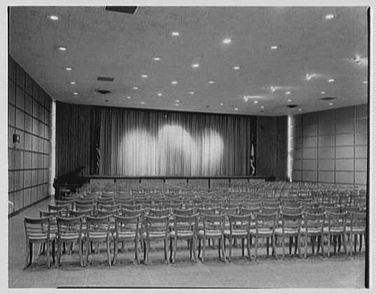 Hewlett-East Rockaway Jewish Community Center, 295 Main St., East Rockaway, Long Island. Ballroom
