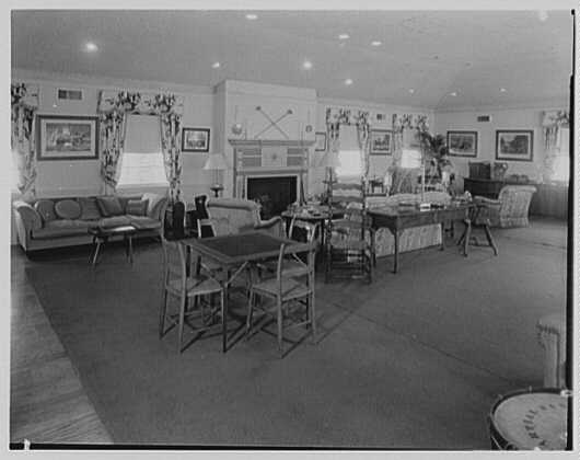Mr. and Mrs. H.O. Frelinghuysen, residence in Far Hills, New Jersey. Playroom II