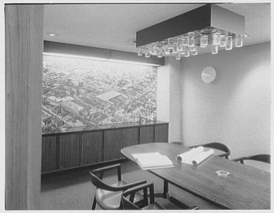 Kent Realty Co., 3906 Union St., Flushing, New York. Conference room