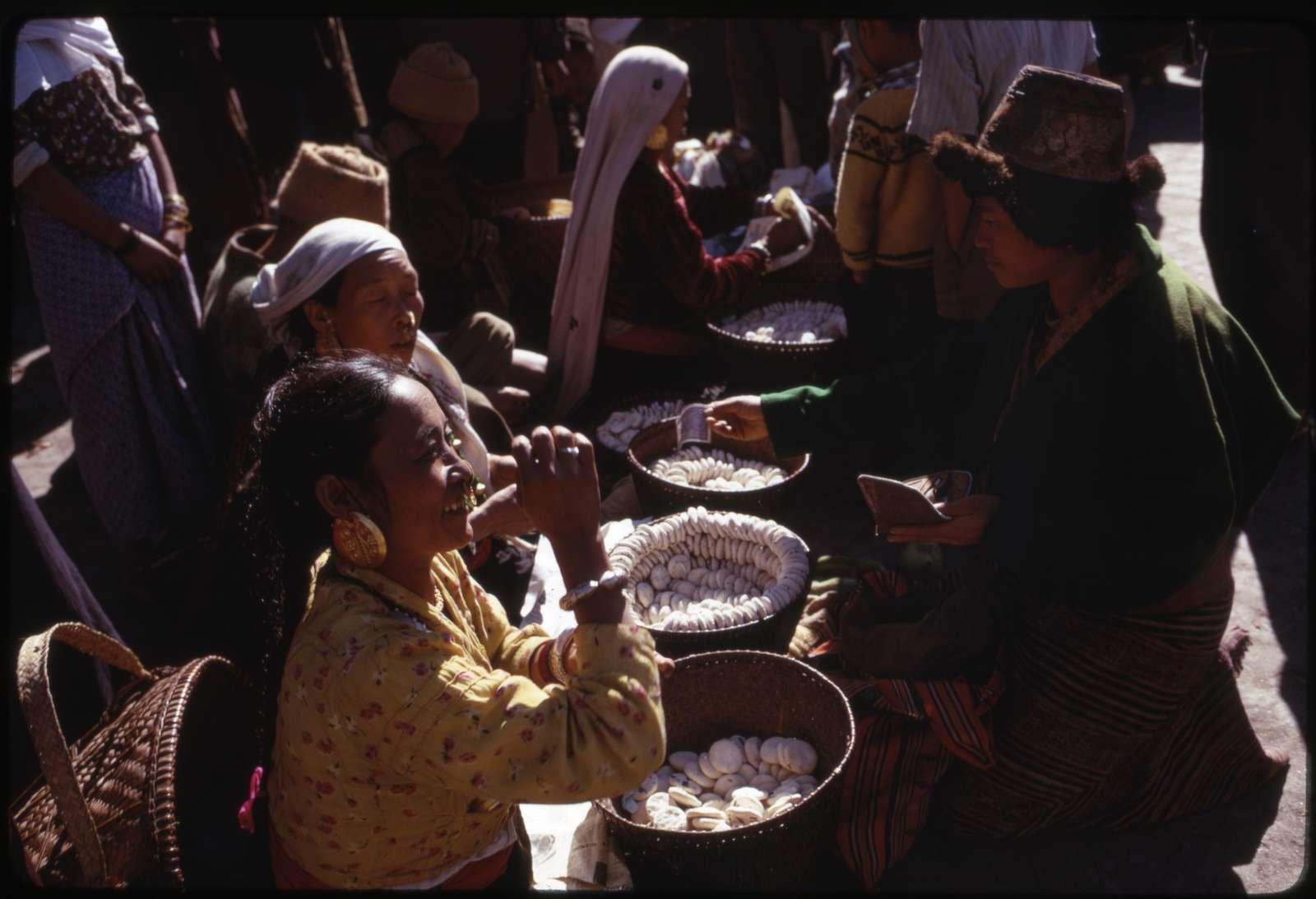 Sikkimese Nepali women with jewellry i.e. jewelry