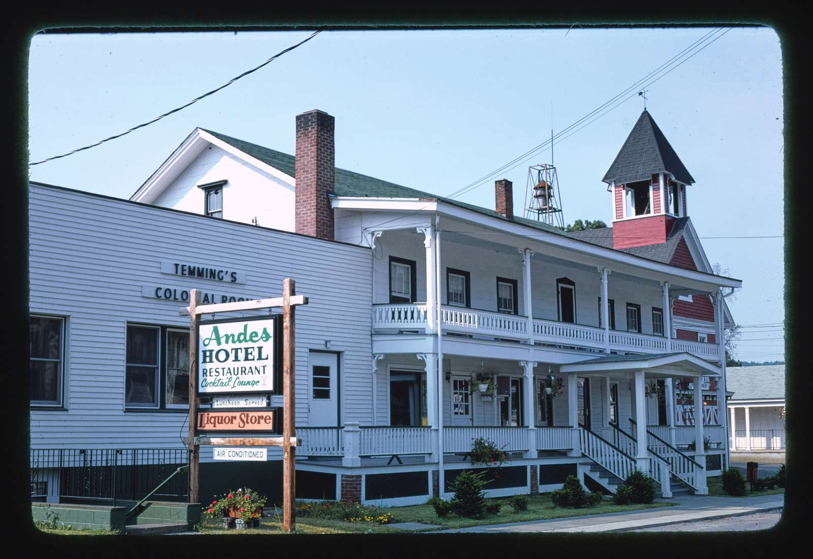 Andes Hotel, Route 28, Andes, New York