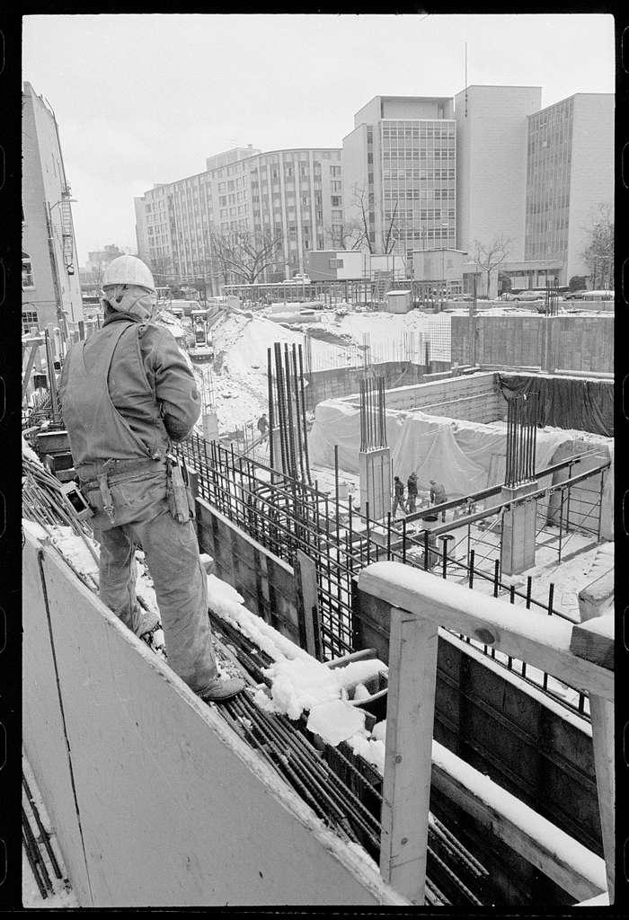 Downtown construction Washington, D.C.