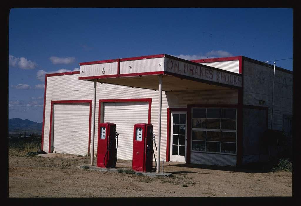 Old Gas Station Wilhoit Arizona Picryl Public Domain Image