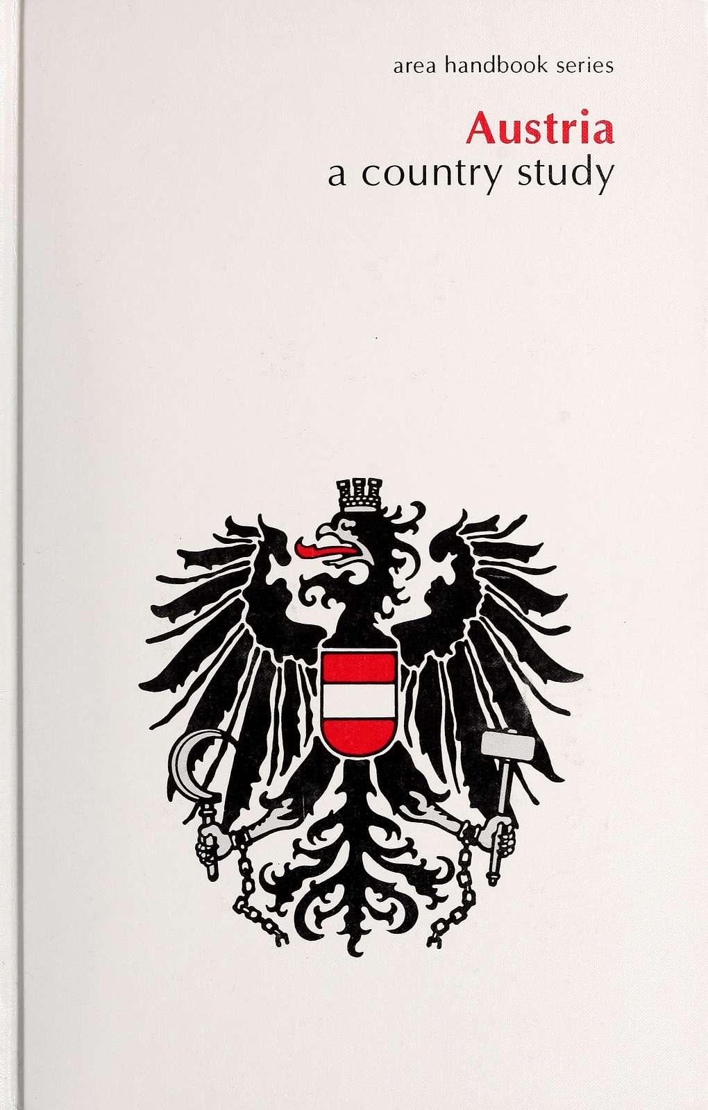Austria : a country study