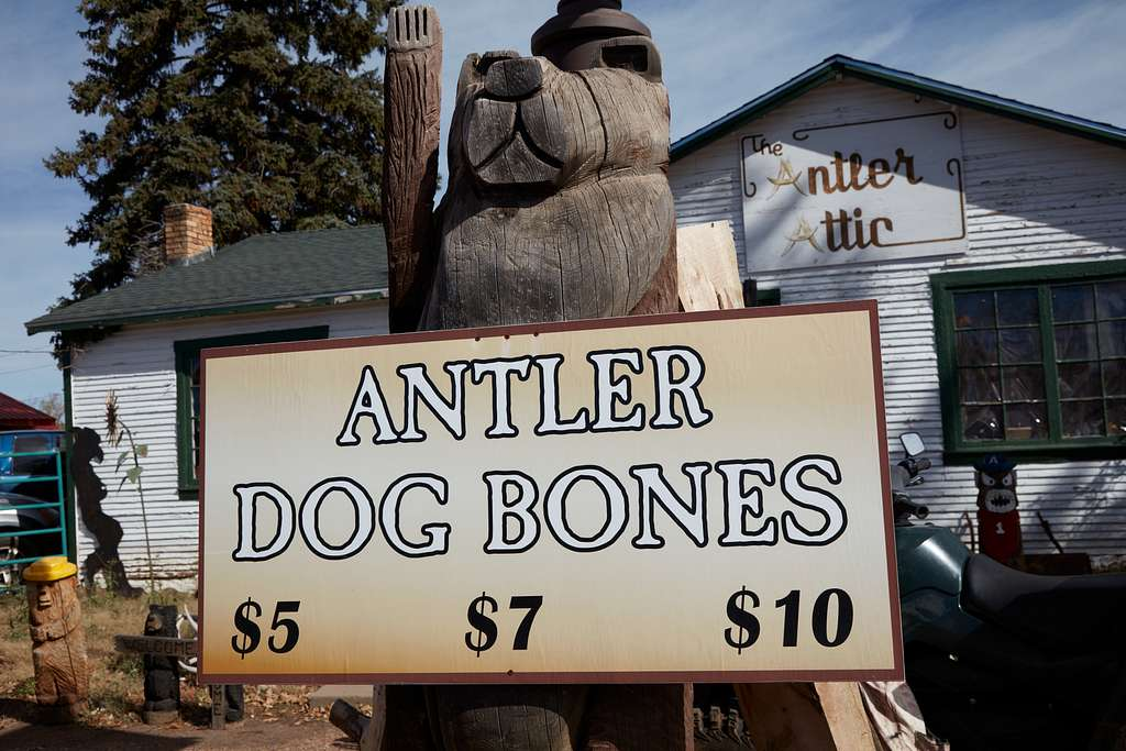 All sorts of items made of animal antlers are sold at the Antler Attic shop in Pinetop-Lakeside, a popular, woodsy Navajo County summer resort and second-home area for residents of larger Arizona desert cities such as Phoenix