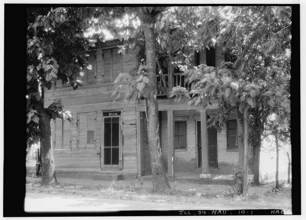 Bangham House, Mulhollen & Seventeenth Streets, Nauvoo, Hancock County, IL