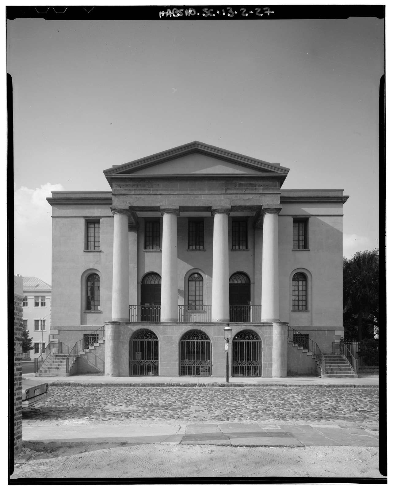 County Records Building, 100 Meeting Street (at Chalmers Street), Charleston, Charleston County, SC