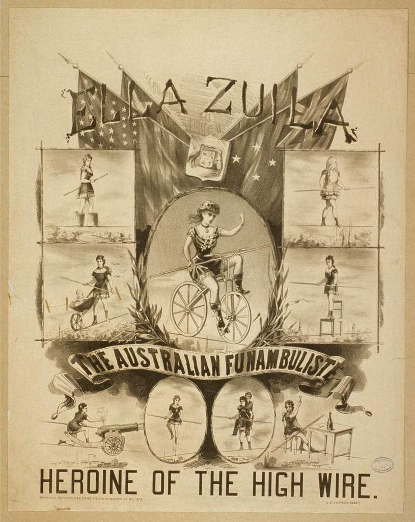 Ella Zuila, the Australian funambuliste