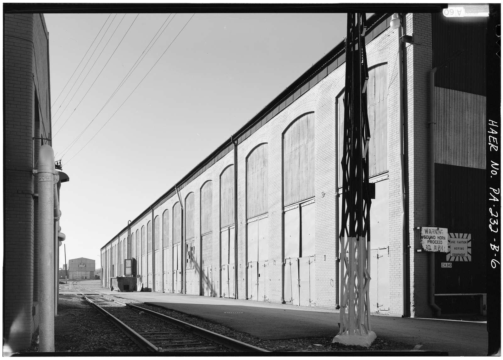 Juniata Shops, Blacksmith Shop No. 2, East of Fourth Avenue, between First & Second Streets, Altoona, Blair County, PA