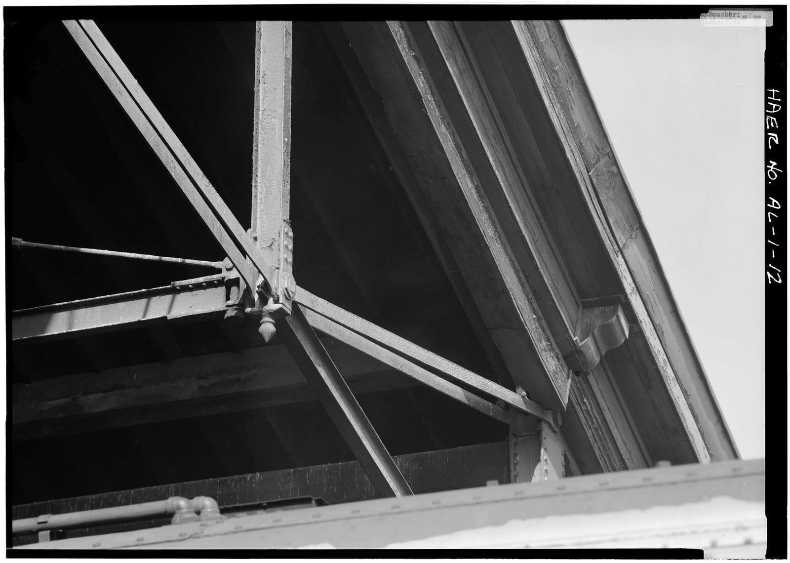 Louisville & Nashville Railroad, Union Station Train Shed, Water Street, opposite Lee Street, Montgomery, Montgomery County, AL