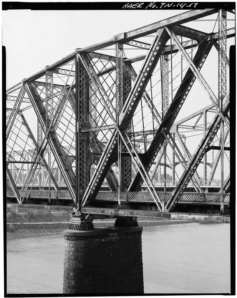 Memphis Bridge, Spanning Mississippi River, Memphis, Shelby County, TN