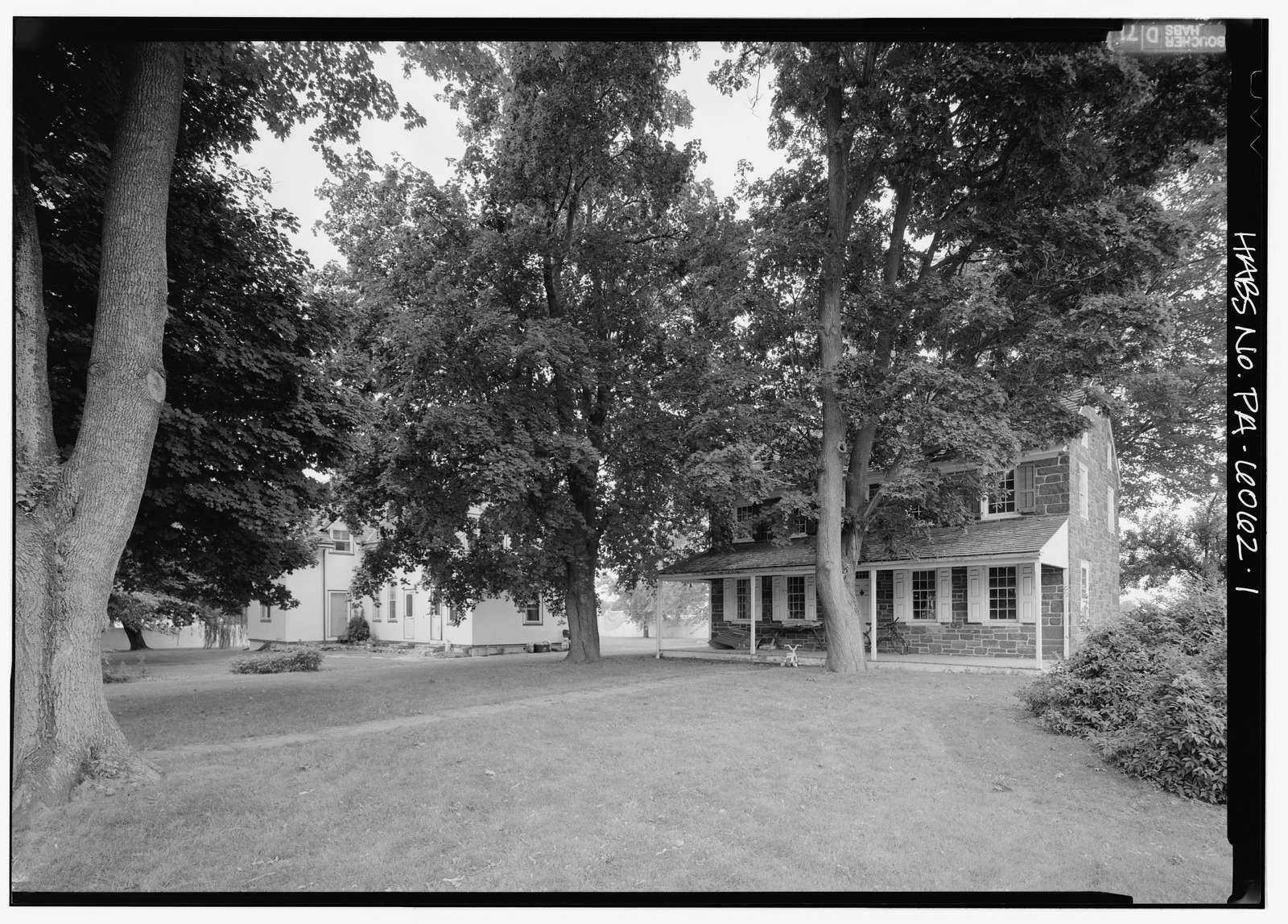 Normandy Farm, Morris & DeKalb Roads, Franklinville, Montgomery County, PA