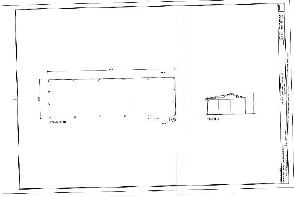 Twelve Mile Camp (Gamble), Loafing Shed, Elko, Elko County, NV