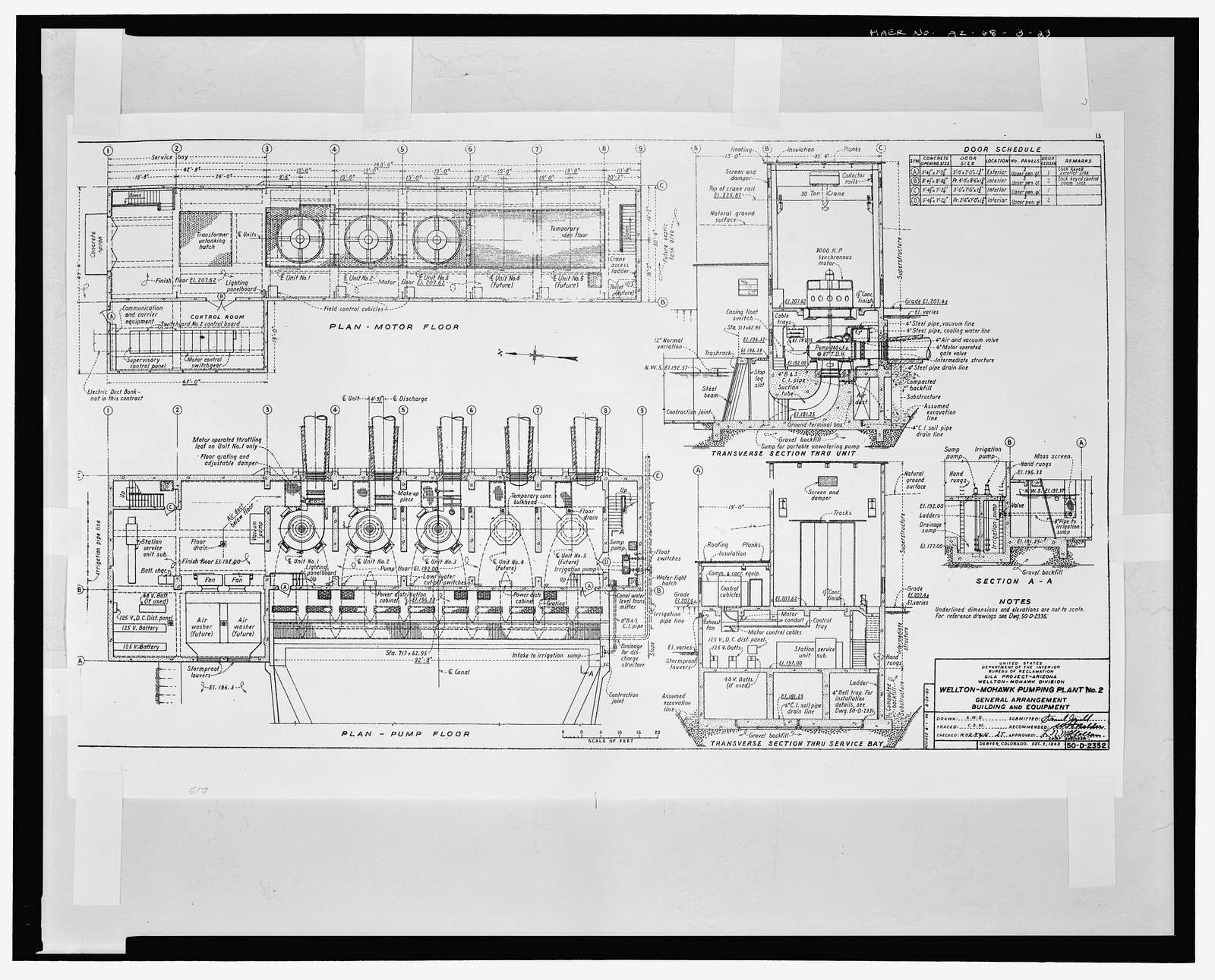 Wellton-Mohawk Irrigation System, Pumping Plant No. 2, Bounded by Interstate 8 to south, Wellton, Yuma County, AZ