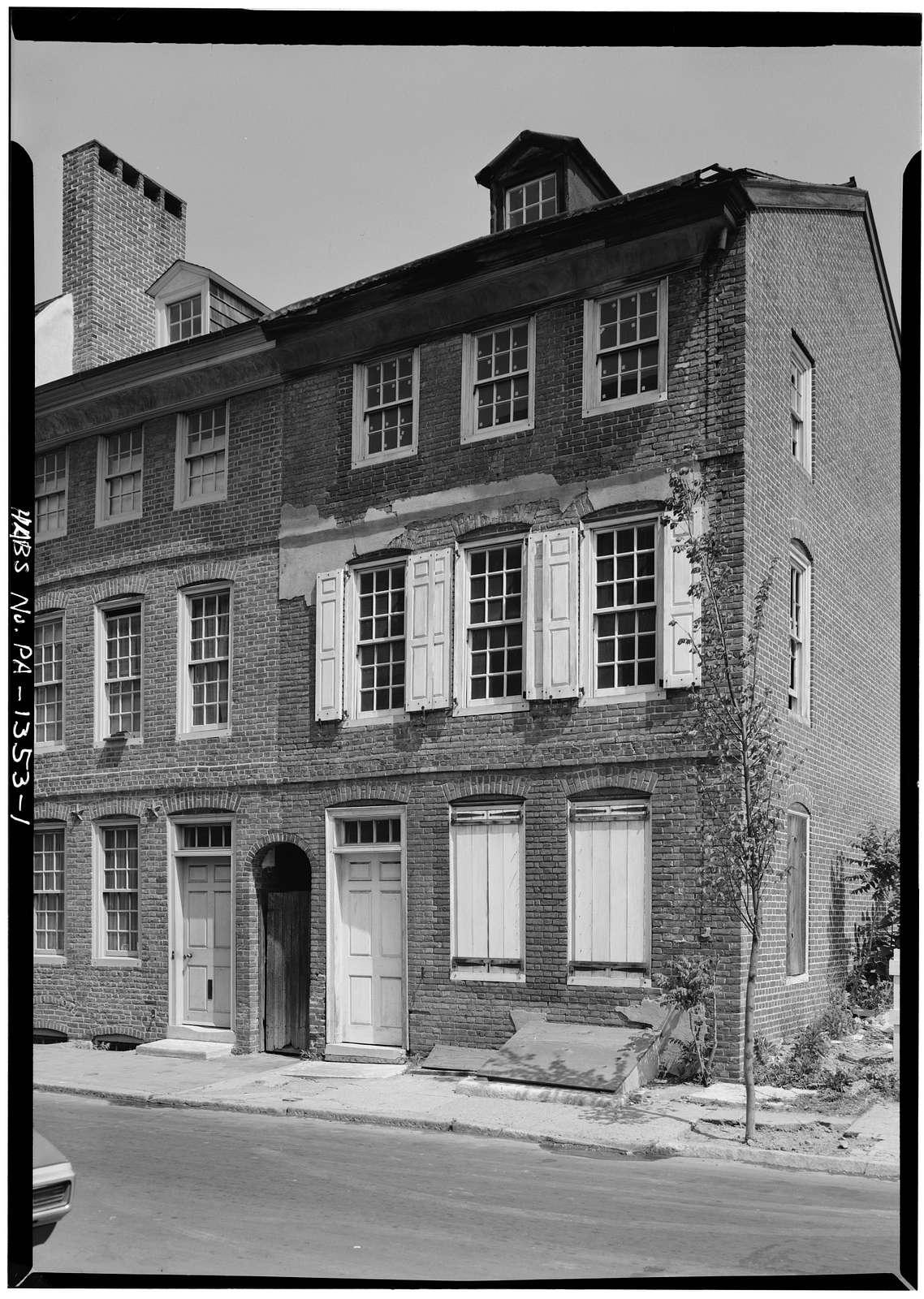 117 Lombard Street (House), Philadelphia, Philadelphia County, PA