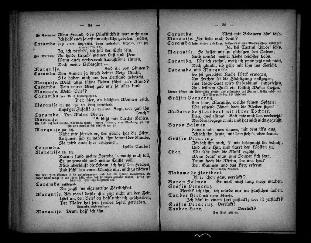 Angèle. Libretto. German