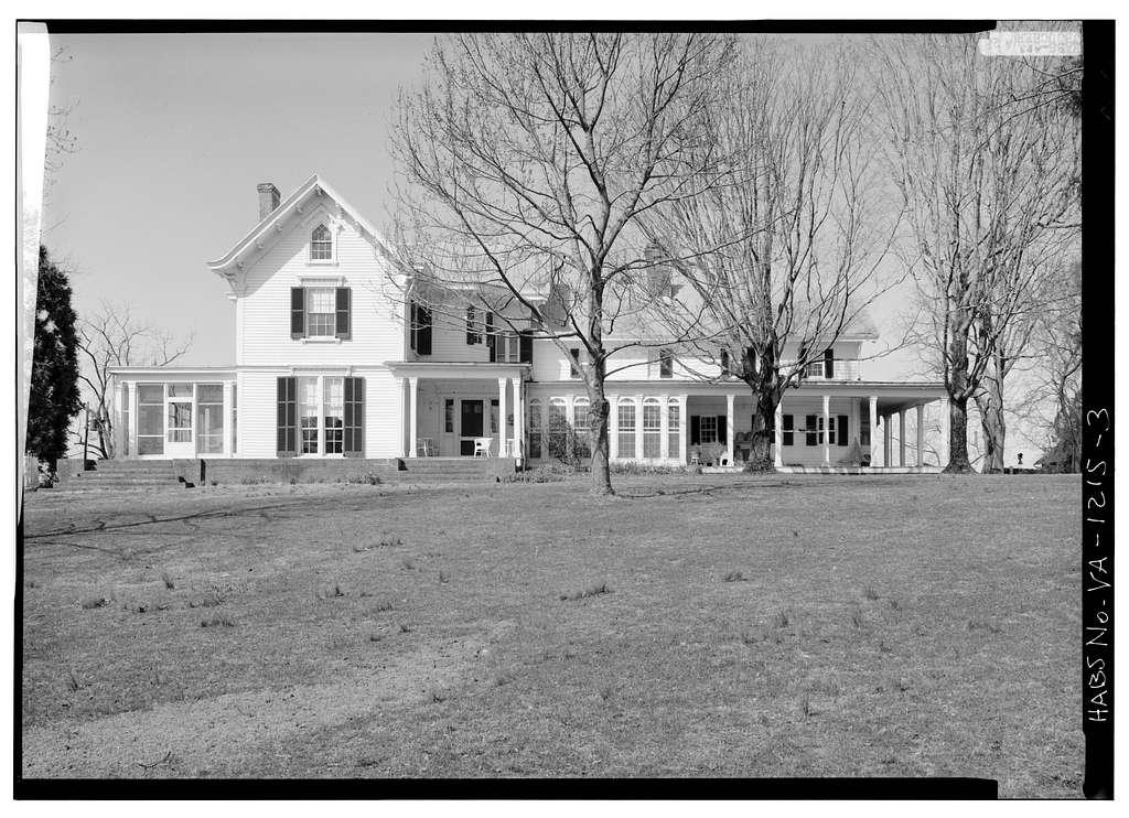 Bracketts Farm (Main House), Routes 638 & 640 vicinity, Trevilians, Louisa County, VA