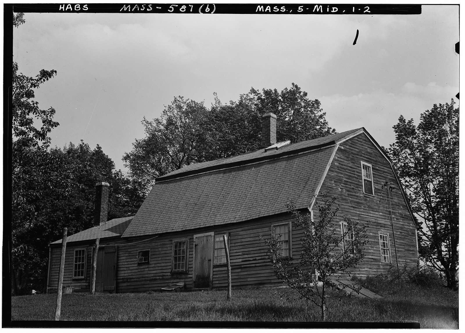 Bradstreet House, Middleton, Essex County, MA