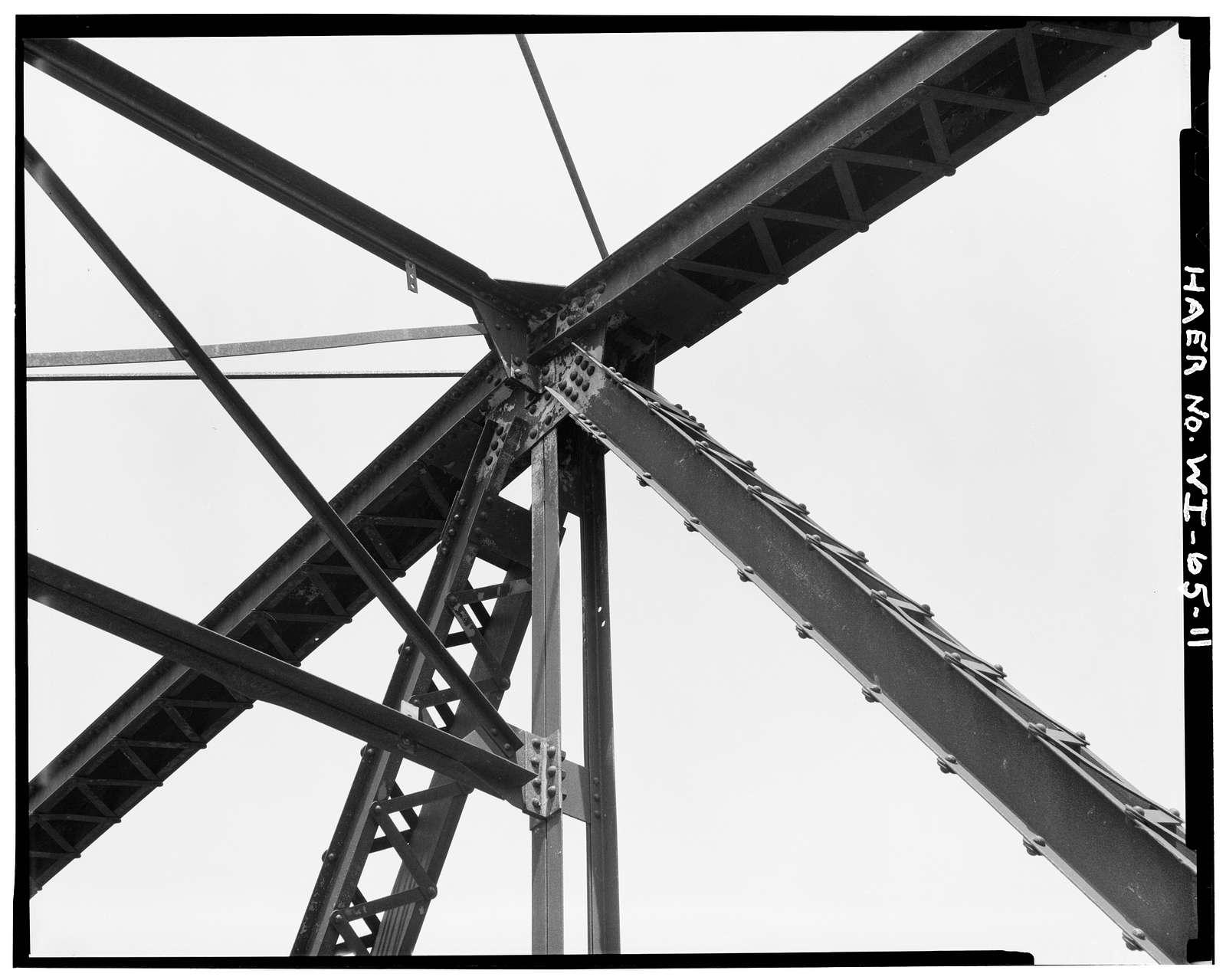 Bridge No. 18, Spanning Kickapoo River, La Farge, Vernon County, WI