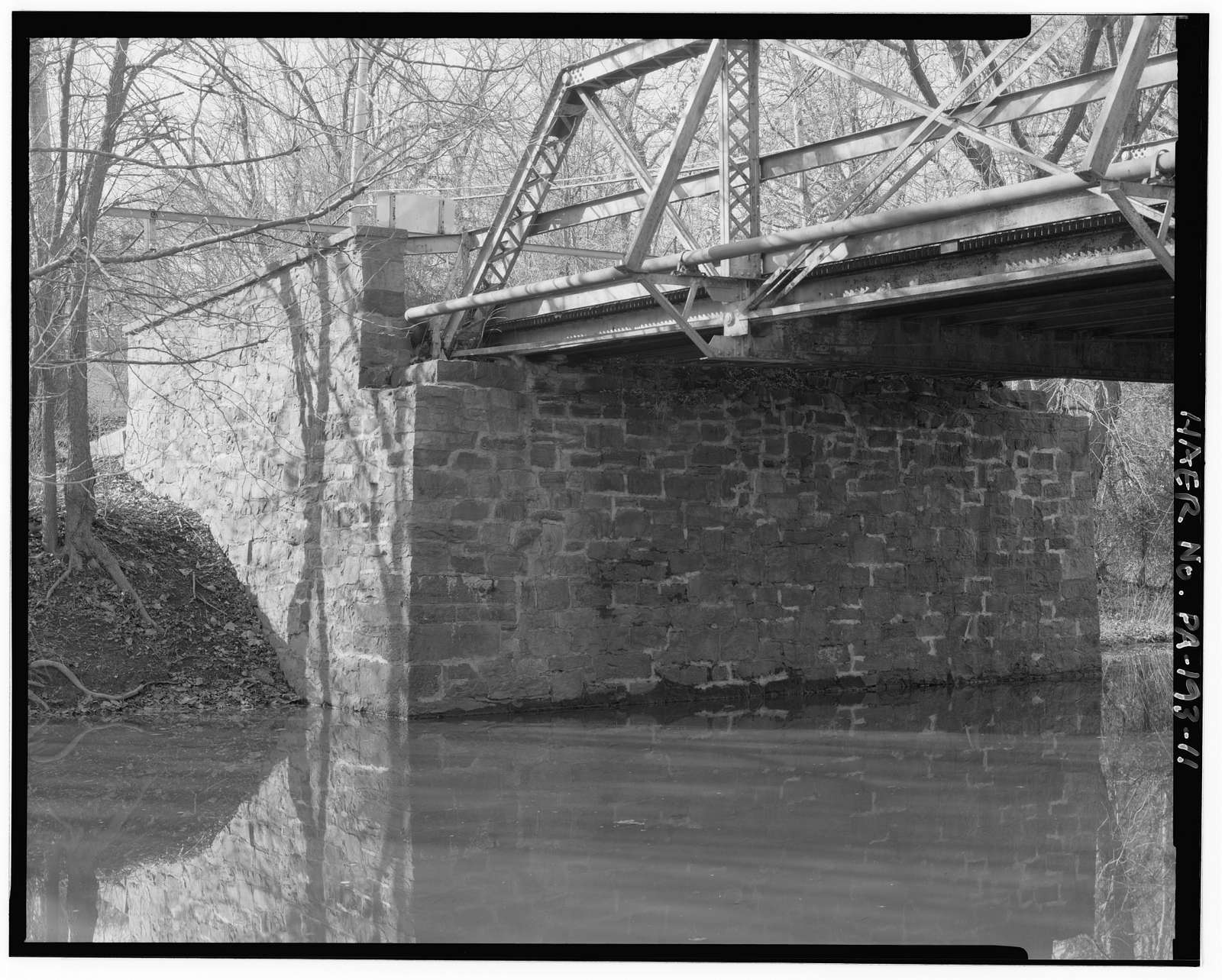 Bucks County Bridge No. 313, Spanning Delaware Canal at Letchworth Avenue, Yardley, Bucks County, PA