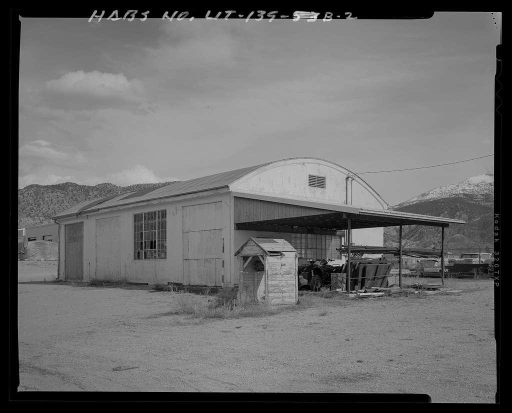 "Cedar City Automotive Repair Shop, Utility Building ""B"", 820 North Main Street, Cedar City, Iron County, UT"
